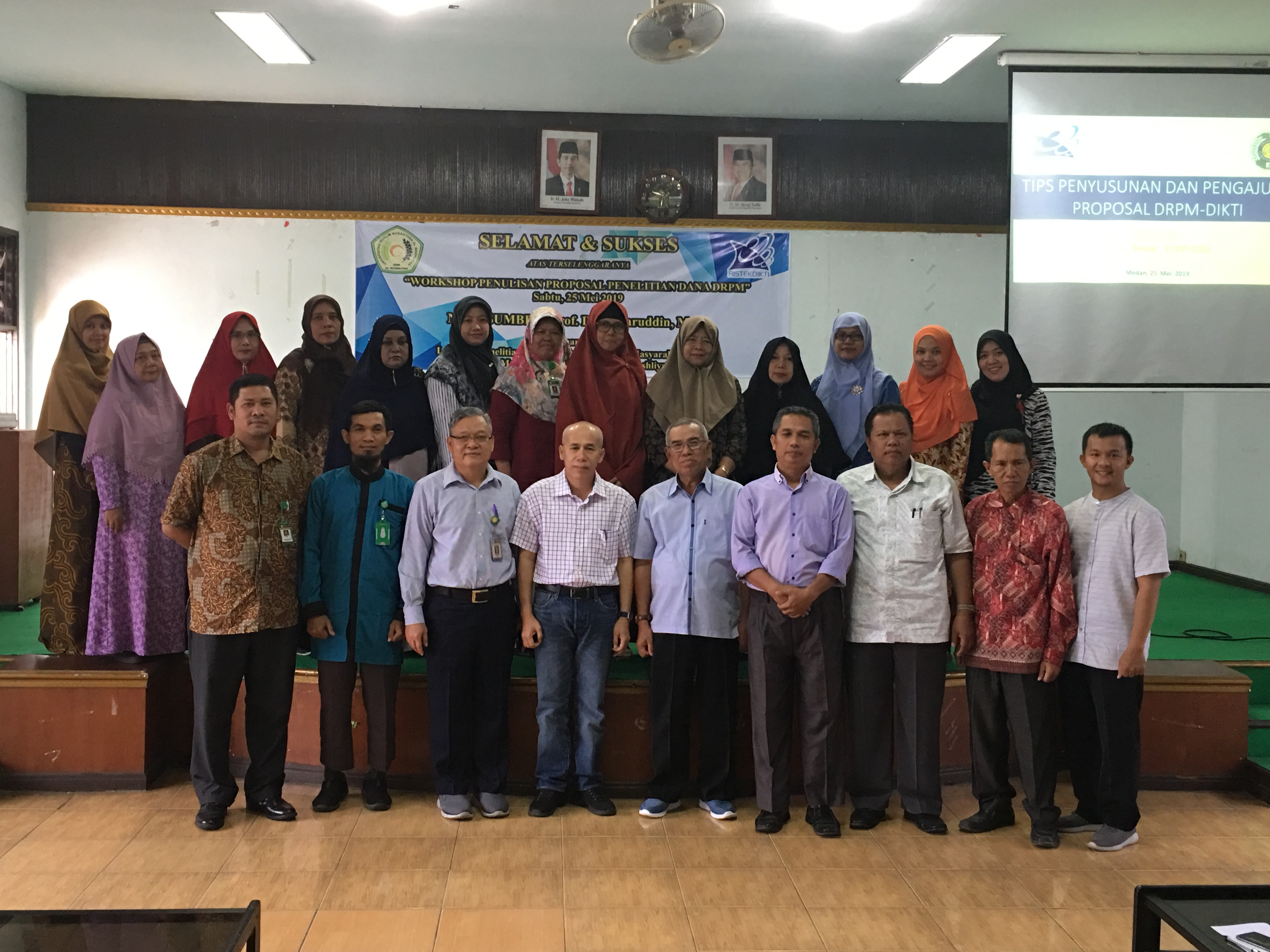 Workshop Penulisan Proposal Penelitian Dana DRPM Tahun 2019